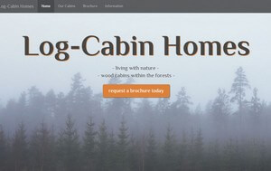 The Log-Cabin Homes Template